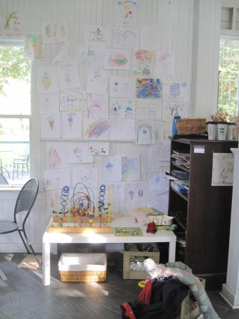Children's corner in the Uncommon Grounds