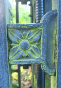 Detail on the Main Gates of the Halifax Public Gardens.