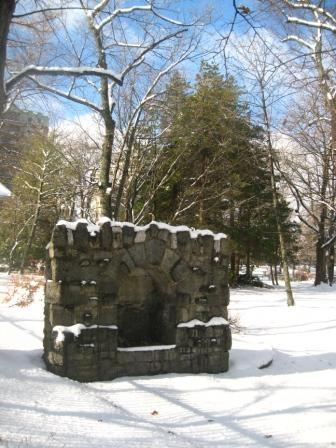 The Grotto at the Halifax Public Gardens.