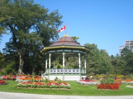Halifax Public Gardens Bandstand 2011.