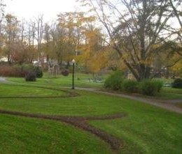 Serpentine Bed at the Halifax Pulbic Gardens 2011