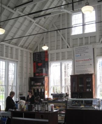 Uncommon Grounds Café at the Halifax Public Gardens.