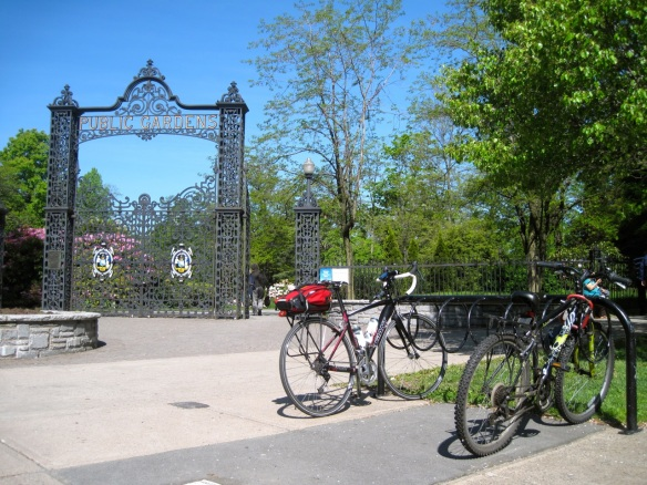 Bici at the Halifax Public Gardens