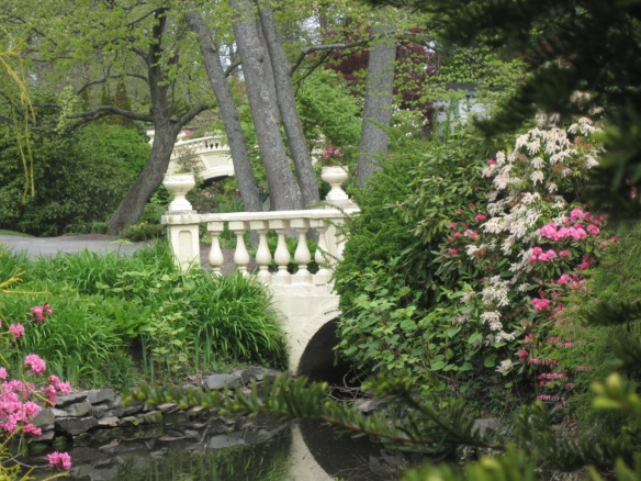 Bridges at the Halifax Public Gardens