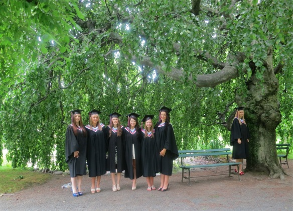 Graduation at the Halifax Public Gardens