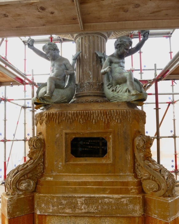 Inside the restoration of the Victoria Jubilee fountain