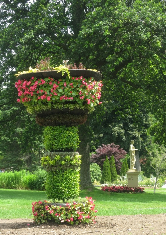Living urn at the Halifax Public Gardens