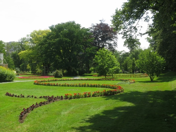 Serpentine Bed at the Halifax Public Gardens