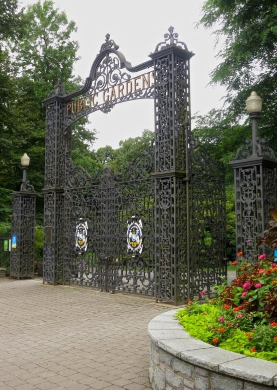 Main Gates of the Halifax Public Gardens
