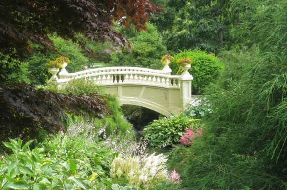 Upper Bridge of the Halifax Public Gardens 2012