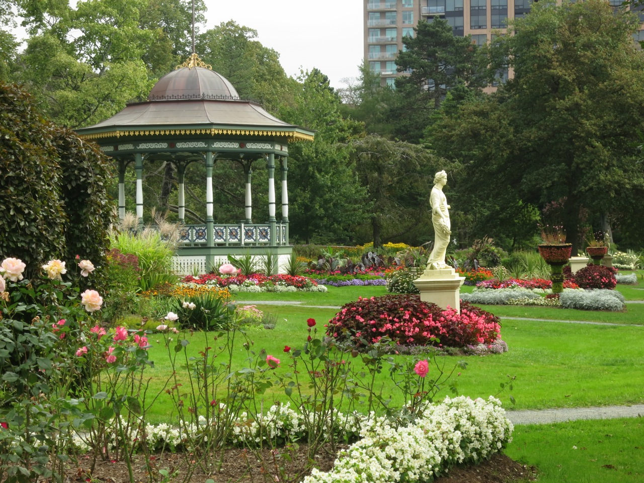 Halifax Public Gardens Along the Gardens path Page 50