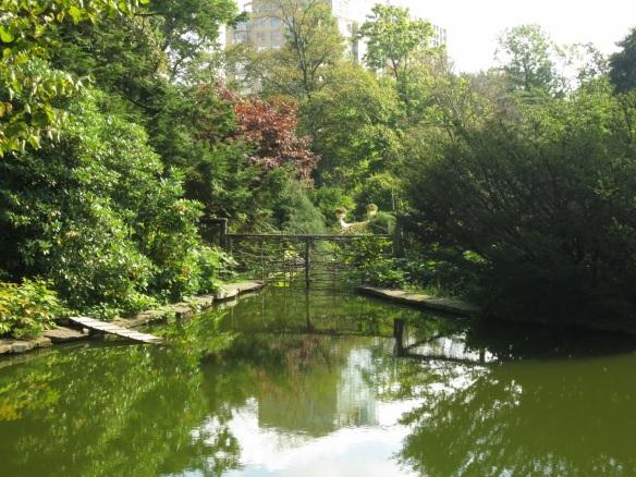 Bird Enclosure pond at the Halifax Public Gardens