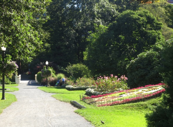 Petit Aleé at the Halifax Public Gardens