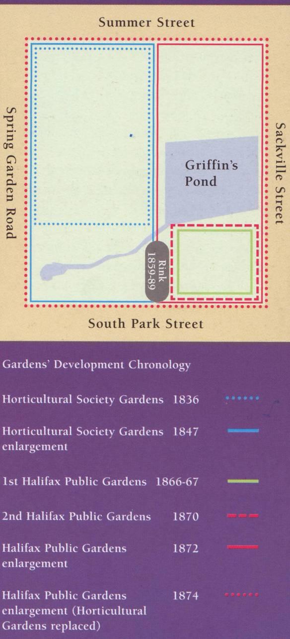 Public Gardens Boundaries