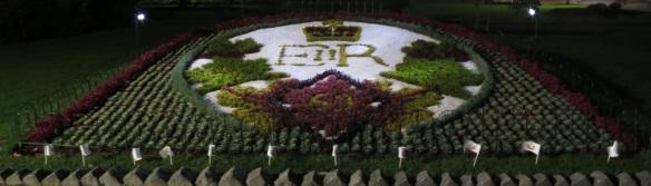 Queen Elizabeth II Diamond Jubilee Carpet bed
