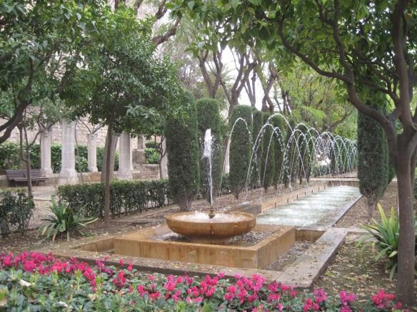 S'Hort del Rei below Almudaina Palace