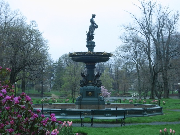 Newly restored Jubilee fountains first spring at the Halifax Public Gardens