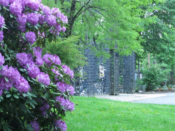 Inside the Main Gates at the Halifax Public Gardens