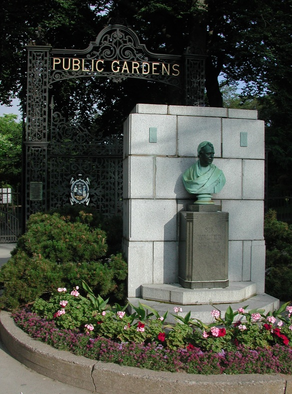 Main entrance of the Halifax Public Gardens pre Juan .