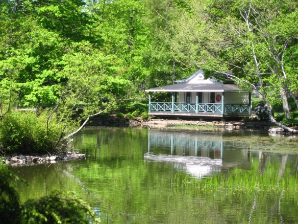 Waterfowl house at the Halifax Public Gardens