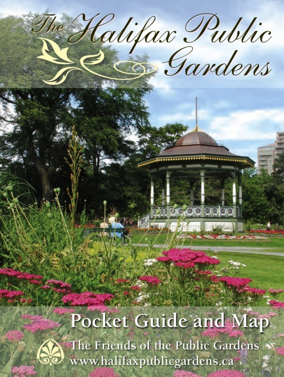 The Halifax Public Gardens Pocket Guide and Tree Map