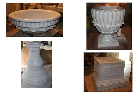 New urns at the Halifax Public Gardens