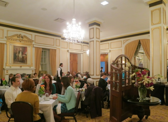 Victoria Day Tea at the Lord Nelson Hotel