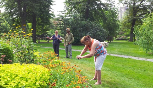 Winner of the Via Rail Garden Route contest at the Halifax Public Gardens