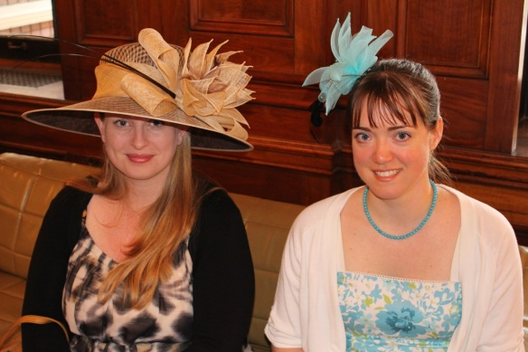 A hat fit for the Queen at the Victoria Day Tea Party