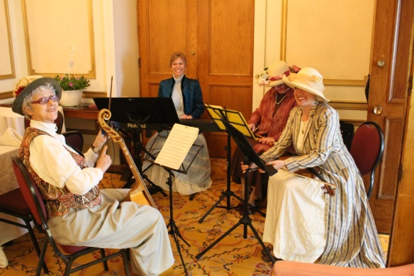 Hausmusik at the Victoria Day Tea Party at the Lord Nelson Hotel