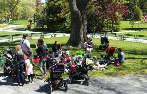 Storytime at the Halifax Public Gardens