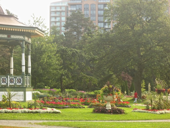 A riot of colour at the Halifax Public Gardens