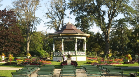 Bandstand area at the Halifax Public Gardens