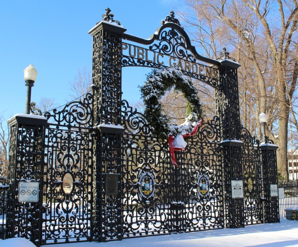 Main gates at the Halifax Public Gardens 2013
