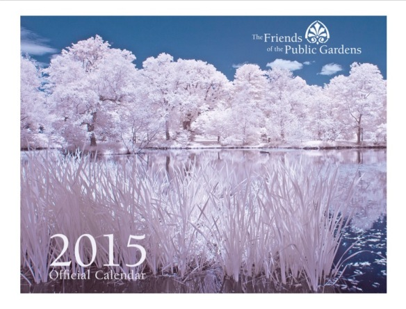 Calendar of the Halifax Public Gardens 2015