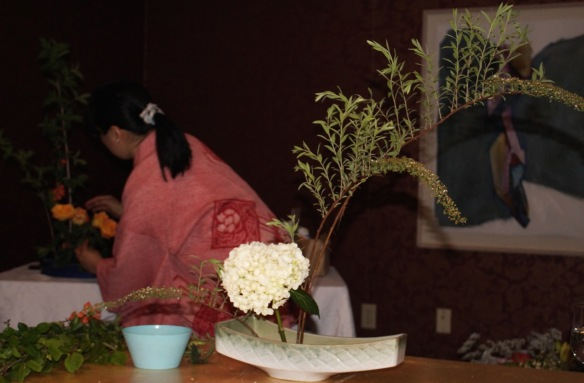 Ikebana workshop at the Halifax Public Gardens