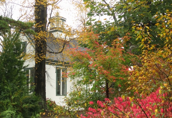 Horticultural Hall in the fall at the Halifax Public Gardens. Home of the Uncommon Grounds cafe