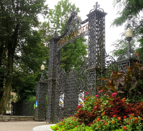 Main gates at the Halifax Public Gardens