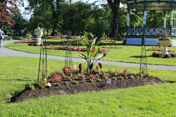 Triangle beds at the Halifax Public Gardens get a makeover