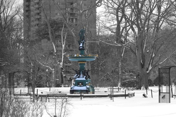 Victoria Jubilee Fountain at the Halifax Public Gardens
