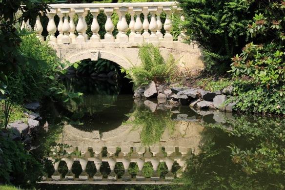 Lower bridge at the Halifax Public Gardens