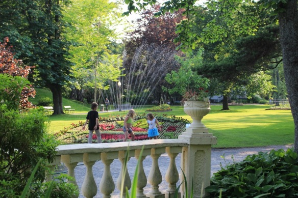 Vintage play at the Halifax Public Gardens
