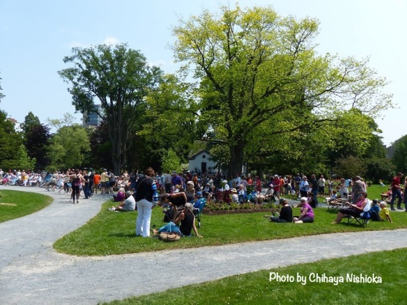 Jazz fest comes to the Halifax Public Gardens