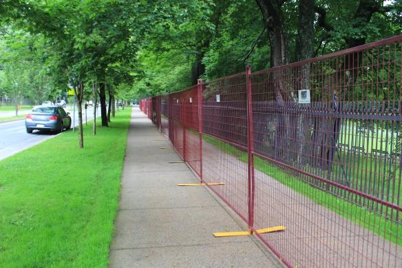 Fence restoration begins at the Halifax Public Gardens