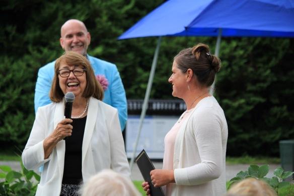 Janet Murray awards Amy Soosaar-Joseph the Suellen Murray Educational Bursary
