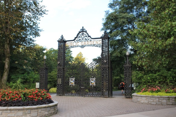 Main gates of the Halifax Public Gardens