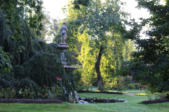 The Soldier's fountain at the Halifax Public Gardens